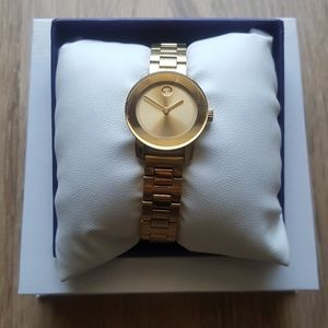 Movado Bold Gold Watch Women's